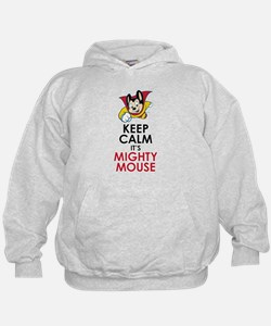 Keep Calm Mighty Mouse Hoodie