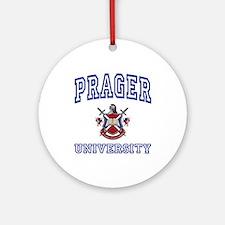 PRAGER University Ornament (Round)
