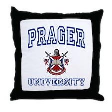 PRAGER University Throw Pillow