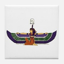 Isis Hieroglyph Tile Coaster