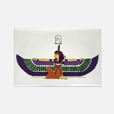 Isis Hieroglyph Rectangle Magnet
