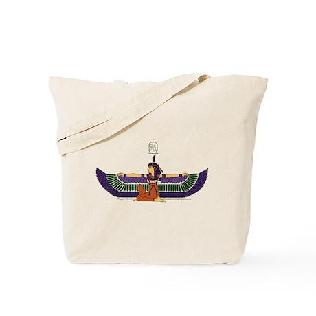 Isis Hieroglyph Tote Bag