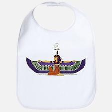 Isis Hieroglyph Bib