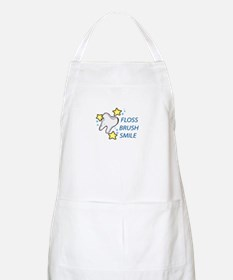 Floss Brush Smile Apron