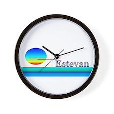 Estevan Wall Clock