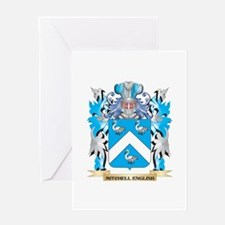 Mitchell Coat of Arms - Family Cres Greeting Cards