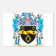 Mitchell Coat of Arms - F Postcards (Package of 8)