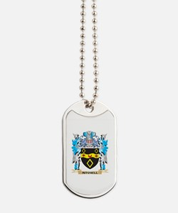 Mitchell Coat of Arms - Family Crest Dog Tags