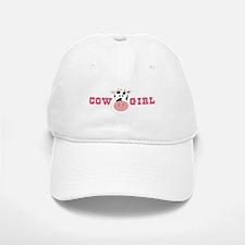 Cow Girl Baseball Baseball Baseball Cap