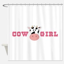 Cow Girl Shower Curtain