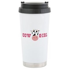 Cow Girl Travel Mug