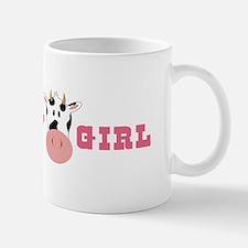 Cow Girl Mugs