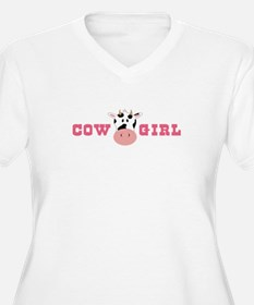 Cow Girl Plus Size T-Shirt