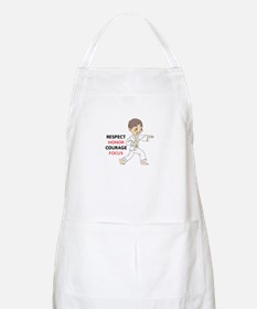 COURAGE HONOR RESPECT Apron