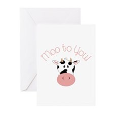Moo To You! Greeting Cards