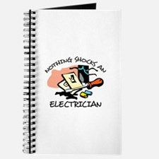 NOTHING SHOCKS ELECTRICIAN Journal