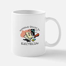 NOTHING SHOCKS ELECTRICIAN Mugs