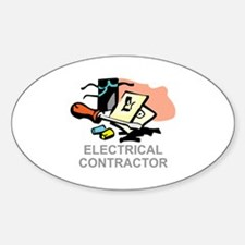 ELECTRICAL CONTRACTOR Decal