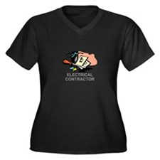 ELECTRICAL CONTRACTOR Plus Size T-Shirt