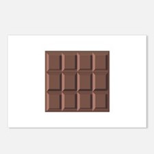 CHOCOLATE BAR Postcards (Package of 8)