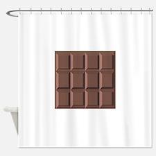 CHOCOLATE BAR Shower Curtain