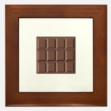 CHOCOLATE BAR Framed Tile