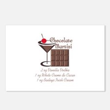 CHOCOLATE MARTINI Postcards (Package of 8)