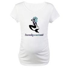 I'm really a mermaid silhouette Shirt