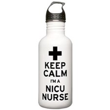 Keep Calm NICU Nurse Water Bottle