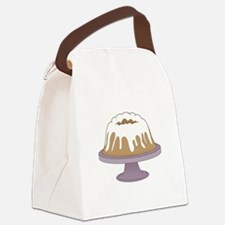 Bundt Cake Canvas Lunch Bag
