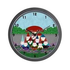 Gnomeses Wall Clock