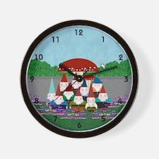 Gnomeses Wall Clock