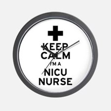 Keep Calm NICU Nurse Wall Clock