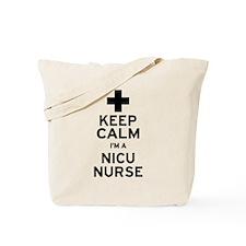 Keep Calm NICU Nurse Tote Bag