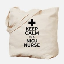 Keep Calm NICU Nurse Tote Bag