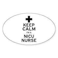 Keep Calm NICU Nurse Decal