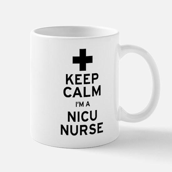 Keep Calm NICU Nurse Mugs