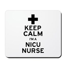 Keep Calm NICU Nurse Mousepad