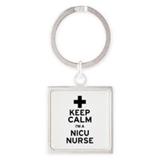 Keep Calm NICU Nurse Keychains