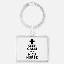 Keep Calm NICU Nurse Keychains