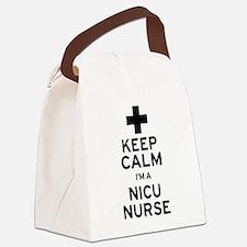 Keep Calm NICU Nurse Canvas Lunch Bag