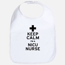 Keep Calm NICU Nurse Bib