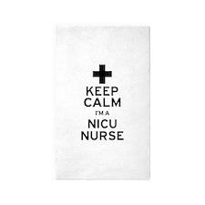 Keep Calm NICU Nurse Area Rug