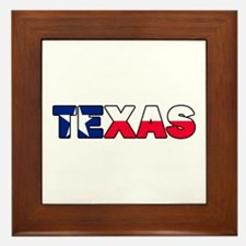 Texas 001 Framed Tile