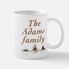 The Adams family fishing fly Mug