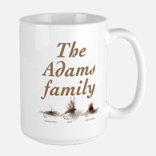 The Adams family fishing fly Mug