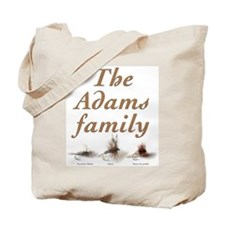 The Adams family fishing fly Tote Bag