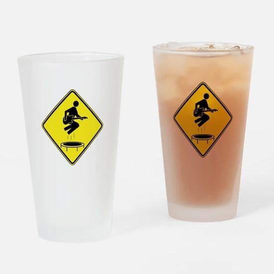 You Enjoy Mini-Tramps Drinking Glass