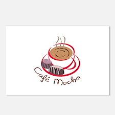 CAFE MOCHA Postcards (Package of 8)