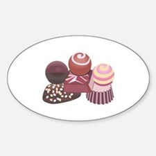 STACKED CHOCOLATES Decal